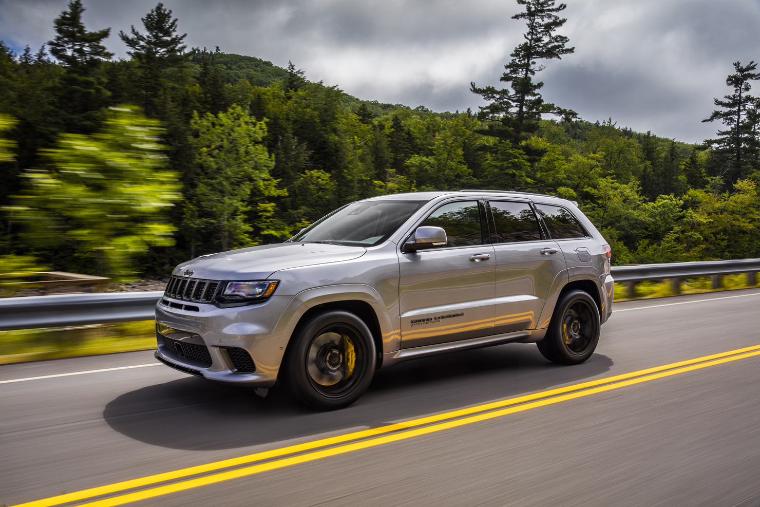 """It's """"Bring Your SUV To Track"""" Day: 2018 Jeep Grand Cherokee Trackhawk - Zero To 60 Times"""