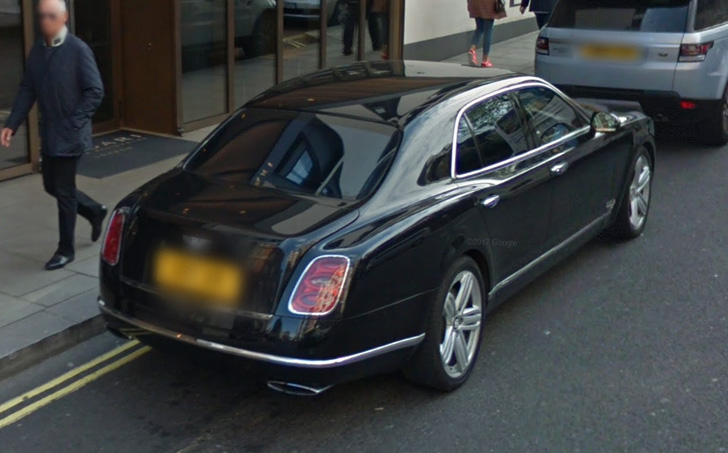 exotic cars spotted in london