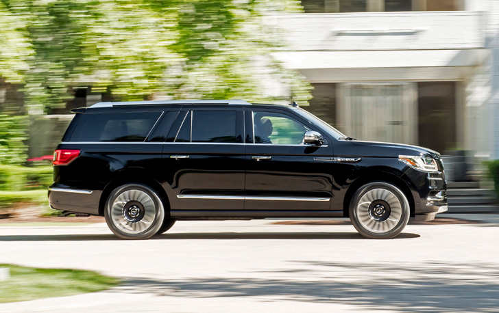 new lincoln navigator test drive