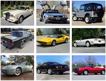 1980s Car 0 60 Times