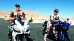 2012 Yamaha YZF-R1 vs 2011 Aprilia RSV4 R APRC