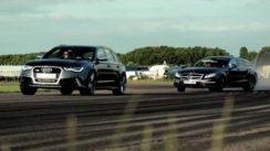 Audi RS6 vs Mercedes CLS 63 AMG Wagon