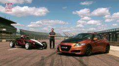 Honda CR-Z Mugen Hybrid vs Ariel Atom Mugen