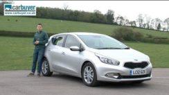 Kia Cee'd Hatchback Car Review Video