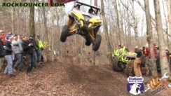 Huge Can Am Maverick Jump