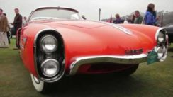 1955 Lincoln Indianapolis Boano Coupe at Pebble Beach
