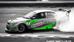 Holden Car Drifting