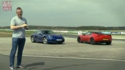 Porsche Cayman S vs Lotus Evora S Review
