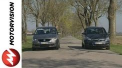 Opel Zafira vs VW Touran Video Review