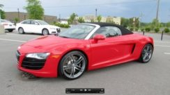 2012 Audi R8 5.2 FSI V10 Spyder Start Up, Exhaust, and In Depth Review