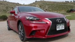 2014 Lexus IS350 F-Sport First Drive 0-60 MPH Review