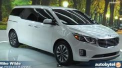 2015 Kia Sedona Minivan Overview at New York Auto Show
