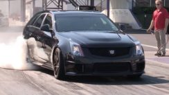 SWEET 10 Second CTS-V Wagon!