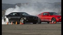 Shelby GT500 Crushes Camaro SS in Drag Race