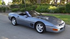 1990 Chevrolet Callaway Corvette Aero Body Convertible in Steel Blue