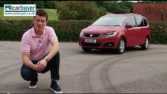 SEAT Alhambra MPV Review Video