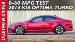 2014 Kia Optima Turbo 0-60 MPH Test