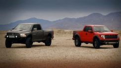 Raptor vs Ram Runner: Head to Head Video