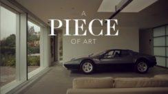 Ferrari Parked in Living Room