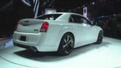 2012 Chrysler 300 SRT8 at New York Auto Show