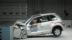 2008 Chrysler PT Cruiser Overlap IIHS Crash Test