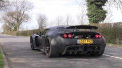 Hennessey Venom GT Prototype – Road Testing in England