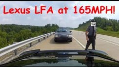 Lexus LFA Gets BUSTED by Cops