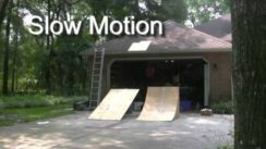 RC Car Jumping On & Off Roof!