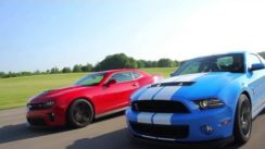 2012 Chevrolet Camaro ZL1 vs Ford Mustang Shelby GT500