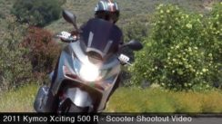 Scooter Shootout:  2011 Kymco Xciting 500 R