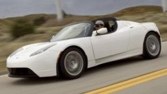 2009 Tesla Roadster Electric Car Review