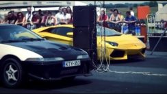 Lamborghini Aventador vs Eagle Talon AWD Turbo