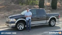 2013 RAM 1500 Laramie HEMI Pickup Truck Video Review