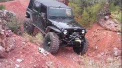 Jeep Wranglers Off-Road in Moab