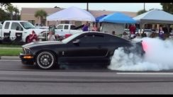 EPIC Shelby Mustang Burnout!