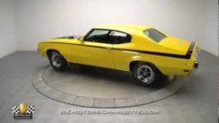 Beautiful Yellow 1970 Buick GSX Muscle Car