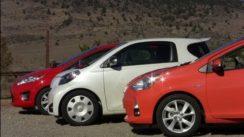 2013 Ford Fiesta vs Toyota Prius C vs Scion IQ Comparison Review