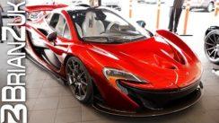 McLaren P1 Delivery