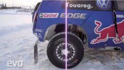 Volkswagen Race Touareg 3 in the Snow