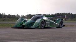 850 Horsepower Electric Racing Car