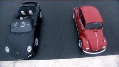 Porsche Turbo vs VW Beetle Drag Race on Top Gear