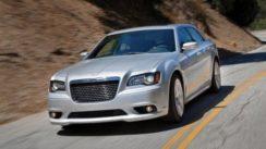 2012 Chrysler 300 SRT8 on Mulholland Drive