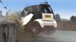 Smart Car Crash Test Video