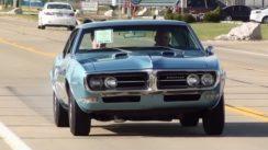 1968 Pontiac Firebird Test Drive