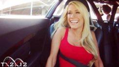 Jenni in a Carrera GT