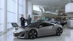 Funny Acura NSX Ad with Jerry Seinfeld