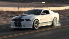 2011 FORD MUSTANG  SHELBY GT350 MASSIVE BURNOUT!!!
