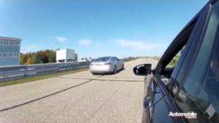 Tesla Model S vs BMW M5 Drag Race