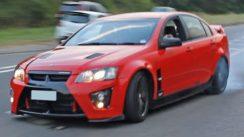 Nice Vauxhall VXR8 Acceleration & Burnout