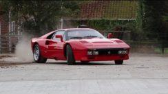 Ferrari 288 GTO Burnout
